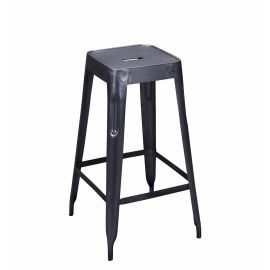 Arlette Bar Stool Grey - Iron