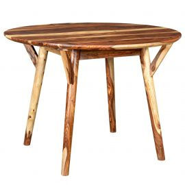 Harrison Round Dining Table - Sheesham
