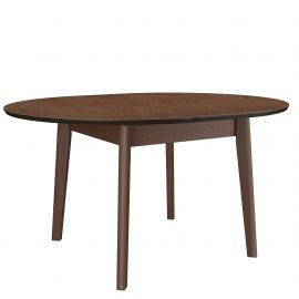 Adelaide Round Dining Table - Walnut