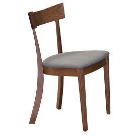 Jasper Side Chair - Walnut/Grey