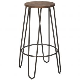 "Julia 26"" Counter Stool - Black"