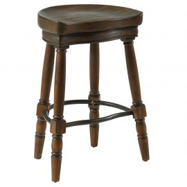 Ian 26'' Counter Stool - Rustic Oak