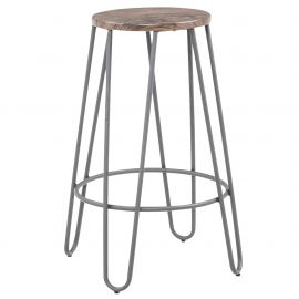 Aurelia 26''Counter Stool - Grey