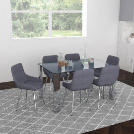 Daisy/Astrid 7Pc Dining Set