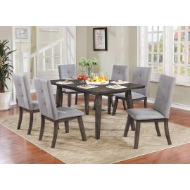 Alexis 7Pc Dining Set - Grey