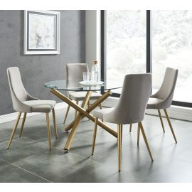 Asher 5Pc Dining Set
