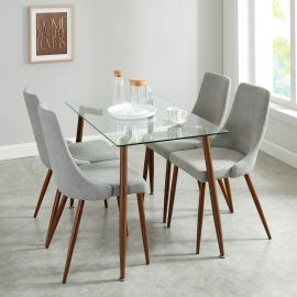 Aaliyah/Avery 5Pc Dining Set Table
