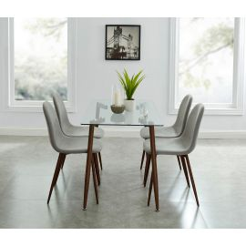 Aaliyah/Gemma 5Pc Dining Set Table