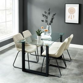 Dahlia/Arianna 5Pc Dining Set