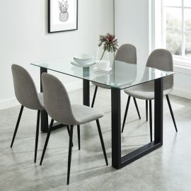 Dahlia/James 5Pc Dining Set