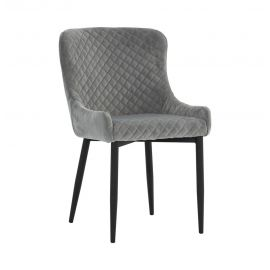 Lydia Dining Chair - Steel