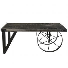 Paige Coffee Table - Distressed Grey