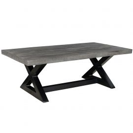 Phoebe Coffee Table - Distressed Grey