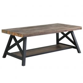 Evelyn Coffee Table - Rustic Oak