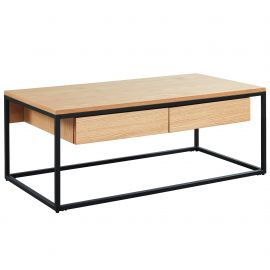 Evangeline Coffee Table - Oak
