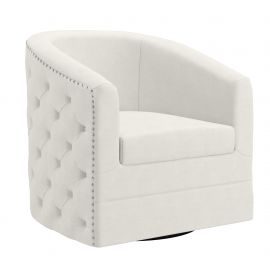 Naomi Accent Chair With Full 360° Swivel