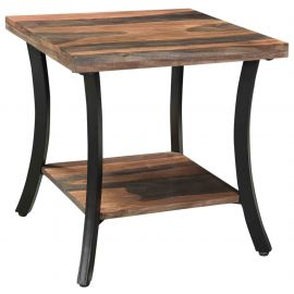 Mackenzie Accent Table - Natural/Grey 2 - Tone