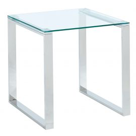 Rhys Accent Table - Silver