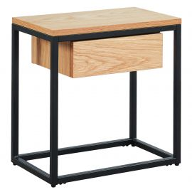 Evangeline Accent Table - Oak