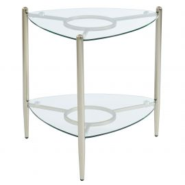 Lillian Accent Table - Champagne Gold