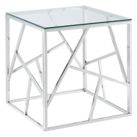 Eloise Accent Table - Silver