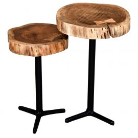 Eric - Set Of 2 Accent Table - Natural