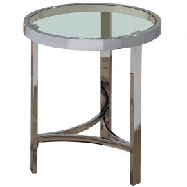 Luke Accent Table - Chrome