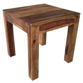Elise Accent Table Dark Sheesham