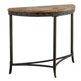 Melanie Console Table - Distressed Pine