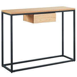 Evangeline Console Table - Oak