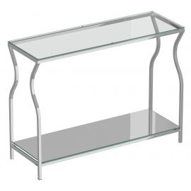 Olivia Console Table - Silver