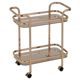 Rachel 2 Tier Bar Cart