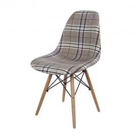 Eiffel Chair - Upholstered - Fabric E03 - Natural