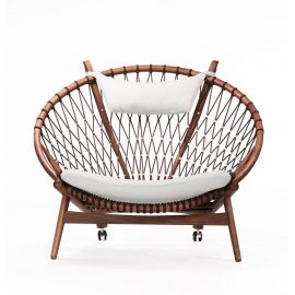 Remy Circle Chair - Red