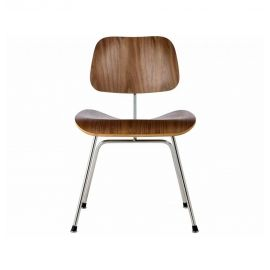 DCM Molded Plywood Dining Chair - Reproduction - Black