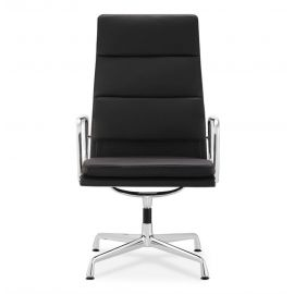 EA215 Soft Pad Group Office Chair - Reproduction - Black