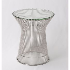 Ralph Side Table - Reproduction - Mirror Polished