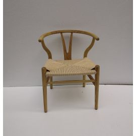 Robert Chair CH24 Y Chair for Kids - Ash - Reproduction
