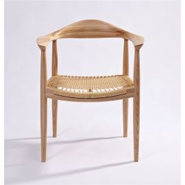 PP501 Kennedy Chair The Round Chair - Paper Cord Seat - Reproduction - Ash
