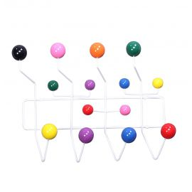 The Mid-Century Wall Coat Hanger - Multicolor
