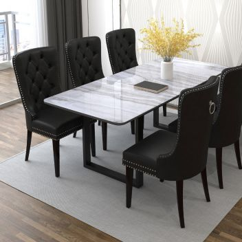 Reece Dining Side Chair Black - Set Of 2