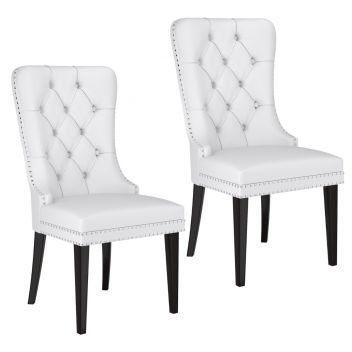 Reece Dining Side Chair White - Set Of 2