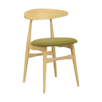 Telyn Dining Chair - Natural & Olive