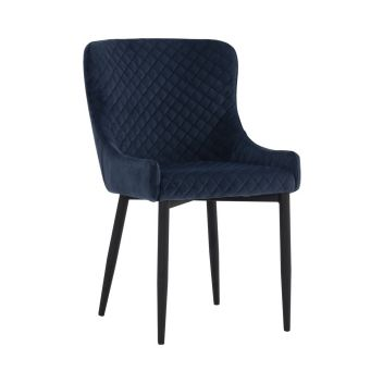 Lydia Dining Chair - Navy