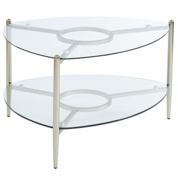 Lillian Coffee Table - Champagne Gold