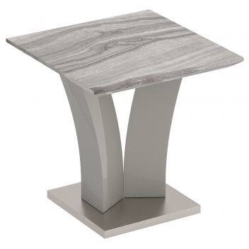 Isaac Accent Table - Grey