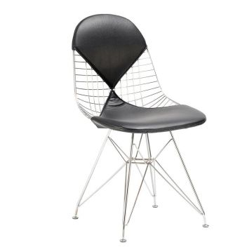 DKR Eiffel Triangle Wire Chair - Reproduction - White