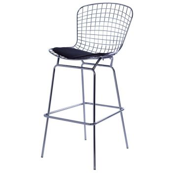 Aurora Wire Bar Stool - Reproduction - White