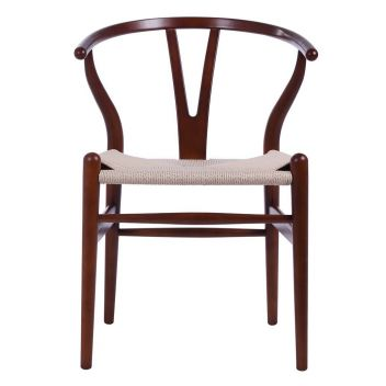 Robert Chair CH24 Y Chair - Light Walnut & Natural Paper Cord - Reproduction